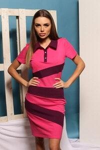 Ежедневна розова рокля TEA PINK