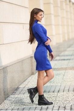 Стилна рокля PRESLAVA