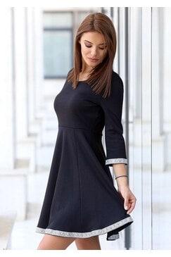 Разкроена дамска рокля KOKETNA DIAMOND