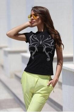 Дамска тениска с къс ръкав DJORDANA