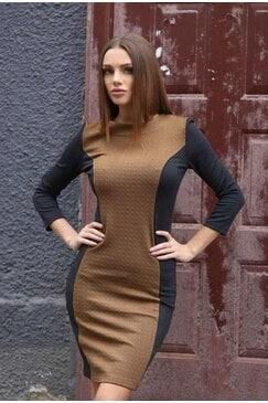 Стилна рокля GALENA