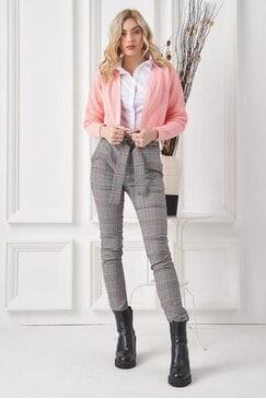 Дамски кариран панталон RETURN