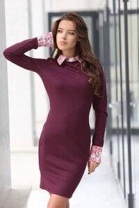 Елегантна дамска рокля ARTERY VIOLET