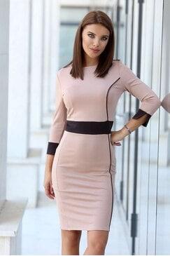 Дизайнерска дамска рокля ELLA