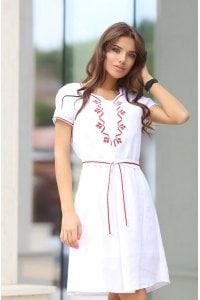Елегантна дамска рокля RADA WHT