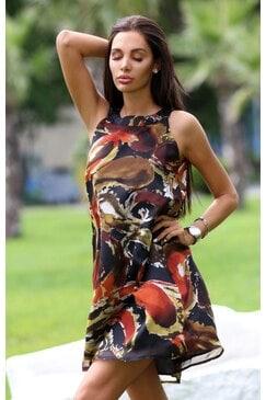 Елегантна рокля FLORAL