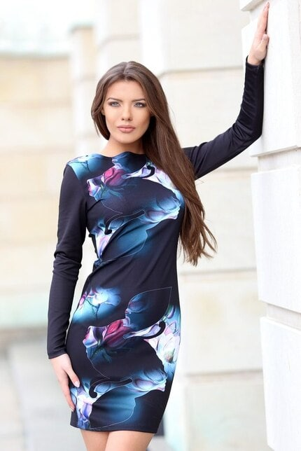 Елегантна рокля SHADOW