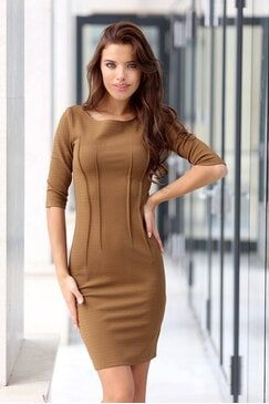 Стилна дамска рокля MARCHELLA