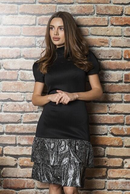 Елегантна черна официална рокля Neda
