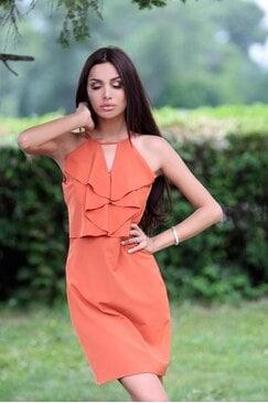 Стилна рокля LOVELY