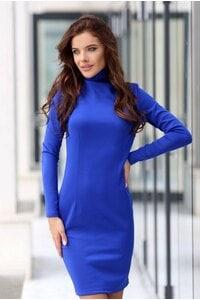 Стилна дамска рокля DEA BLUE