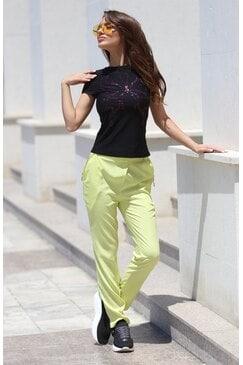 Дамски спортен панталон с ефектни джобове RUJA