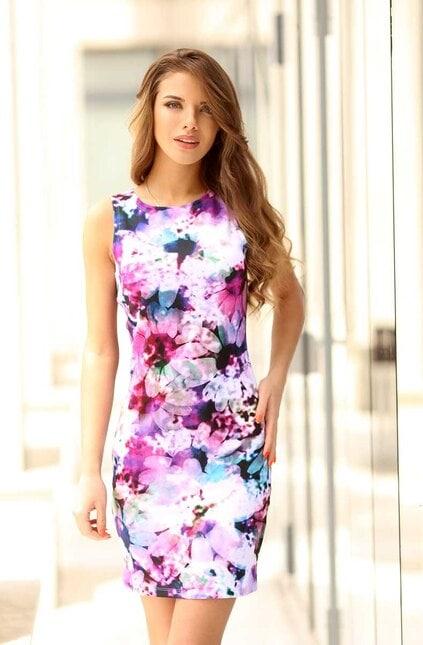 Дизайнерска ежедневна рокля BLOOM