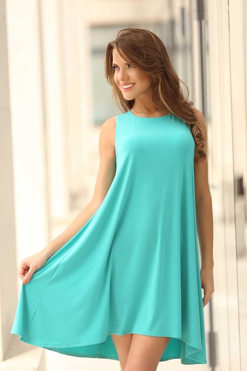 5c66e4f324e Елегантна рокля STEFANIA greeny • Подиум • Дамска мода онлайн