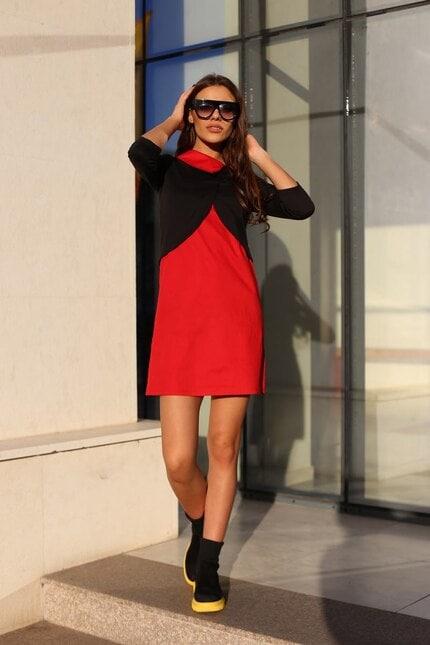 Стилна дамска рокля MOVIE STAR