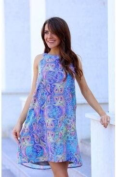 Ежедневна дамска рокля SHANAYA
