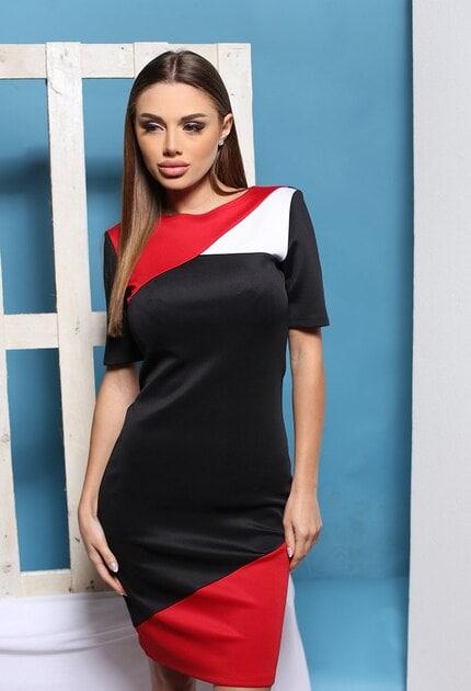 Ежедневна дамска рокля ISKRA