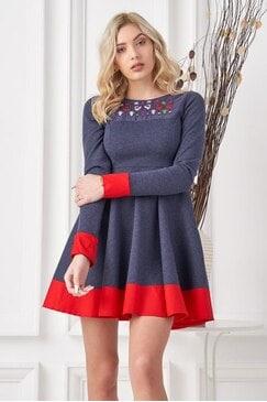 Дамска кокетна рокля KOKETNA DENIM