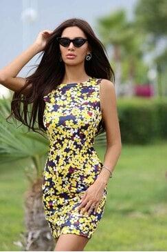 Стилна рокля TERRY