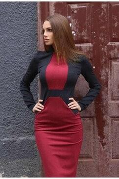Стилна рокля LOREN
