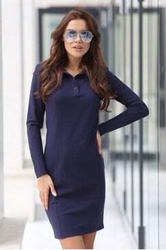 Спортна дамска рокля IVANA DARK BLUE