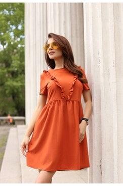 Лятна разкроена дамска рокля SHANA