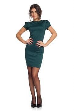 Зелена рокля LETIZIA
