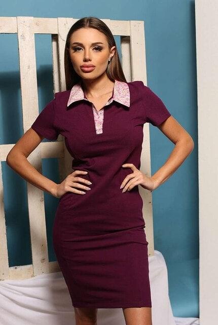 Ежедневна виолетова рокля ALENA VIOLET