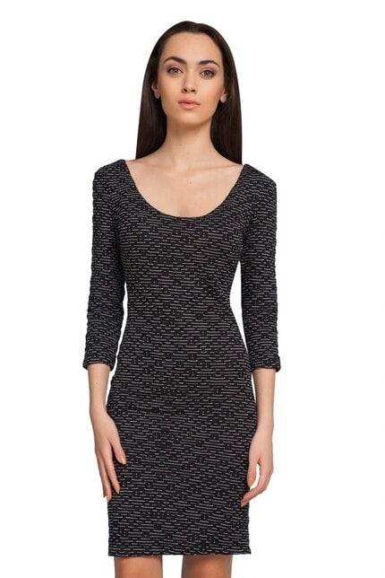 Черна рокля DELANNA