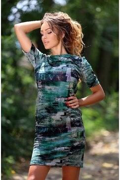 Стилна рокля STELI