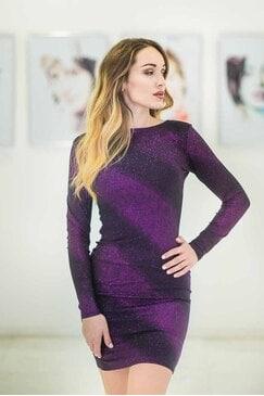 Стилна официална рокля VIOLET STAR