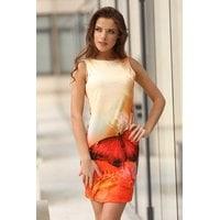 Дизайнерска рокля потник с пеперуда MIYA