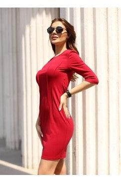 Стилна дамска рокля ELMAZ