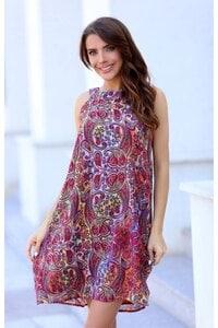 Лятна дамска ежедневна рокля AMELI
