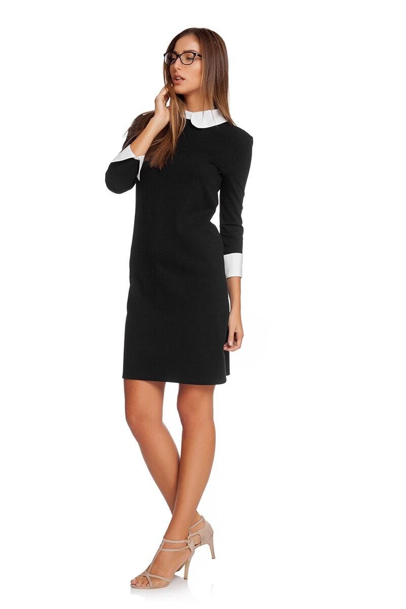 fc30b931f67 Черна дамска рокля SISI • Подиум • Дамска мода онлайн