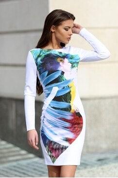 Стилна рокля FELISSA