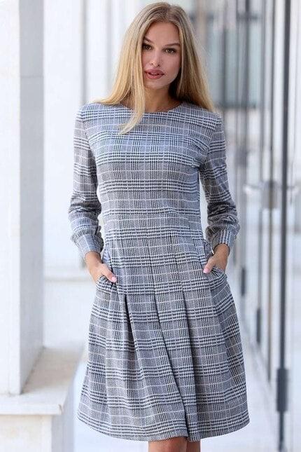 Секси разкроена дамска рокля SABINE