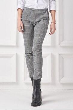 Елегантен дамски панталон каре ABOUTYOU