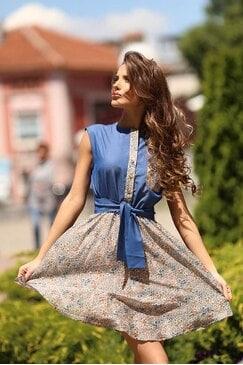Кокетна лятна рокля DANINA