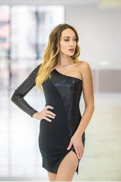 Дамска парти рокля BLACK MAGIC