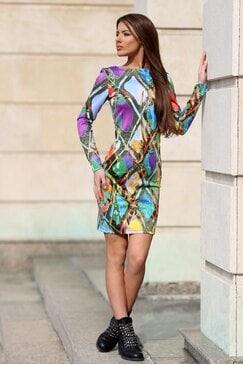 Стилна рокля VERONIK
