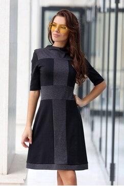 Стилна рокля NIA BLACK
