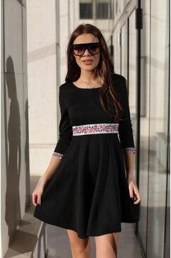 Елегантна дамска рокля KOKETNA BLACK LUX