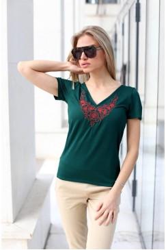 Памучна дамска тениска BORISSA