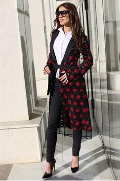 Елегантно дизайнерско палто MIRANDA