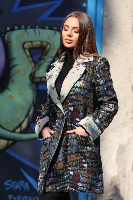 Стилно палто ELEGANT