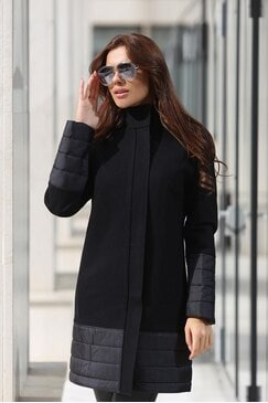 Елегантно дамско зимно палто IVET