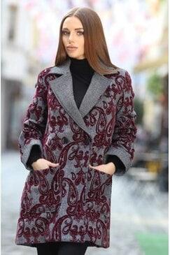 Елегантно дамско палто CLASSY