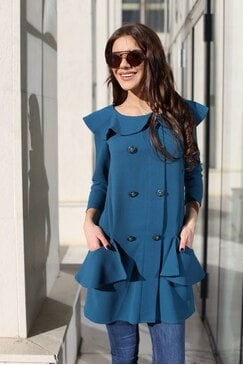 Стилнa дамска рокля BUTTERFLY DREAM