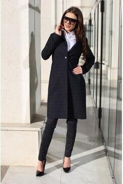 Стилно дамско палто 4YOU